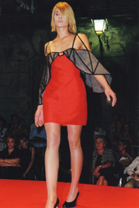 fashion show in Berlin