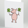 Good Luck! New Year greeting cards 2021